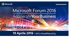 DataFashion sponsors the 2016 Microsoft Forum